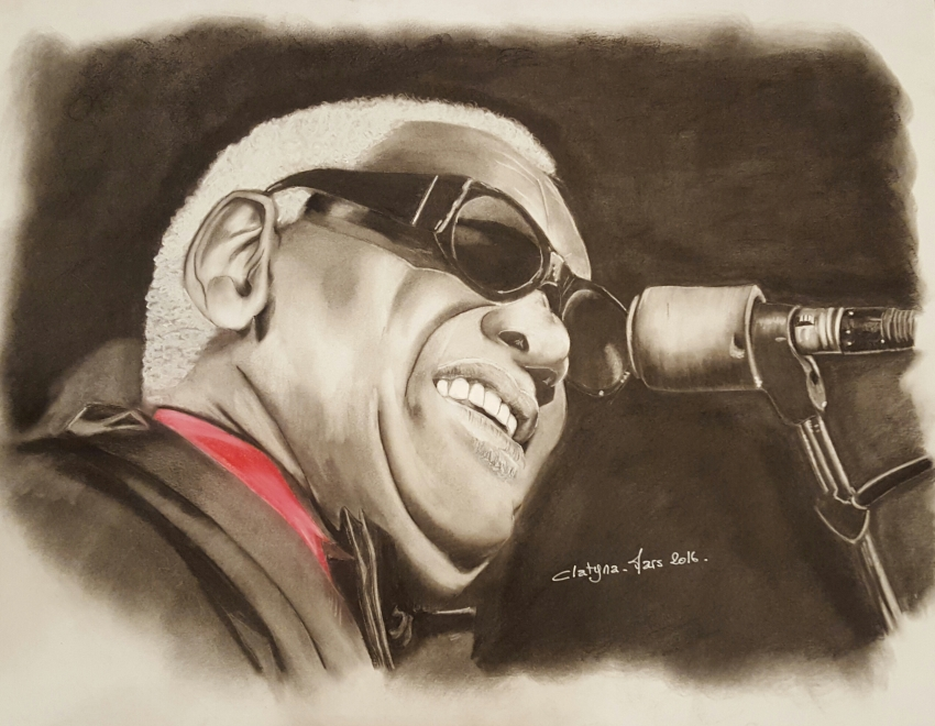 Ray Charles by clatyna